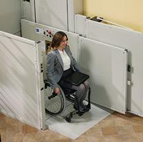 sun city az vpl-3200 commercial ada bruno wheel chair lift