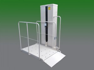 senior elderly mobile home porch wheel chair elevators sun city az vpl vertical platform wheelchair access